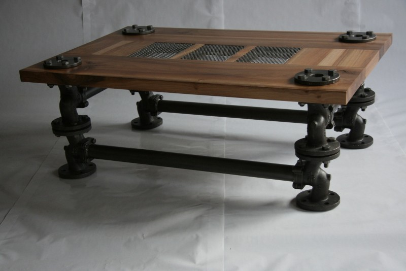 Valves coffee table for Table 90x120