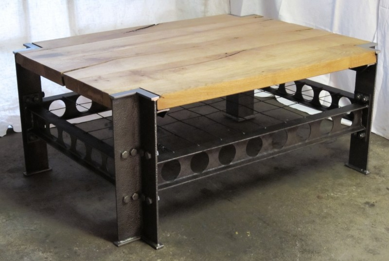 I beam table for Table 90x120